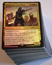 ***Custom Commander Deck*** Saskia the Unyielding EDH MTG Magic Cards Mint