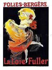 FOLIES BERGERE LIANE DE POUGY CABARET MUSIC PARIS FRANCE POSTER 921PY