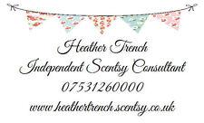 Personalised Labels / Address / handmade / Pink-Blue Bunting Design 195 (260 set