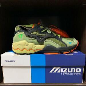MIZUNO × 24karats × mita sneakers WAVE RIDER 1 D1GD2031 Khaki Black US10