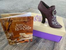 "Just The Right Shoe ""Bordeaux"" #25022 Raine 1999 in Box"
