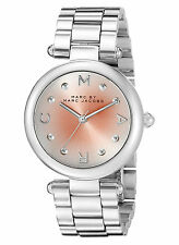 NEW Marc Jacobs MJ3447 Dotty Silver Stainless Steel Women's Watch