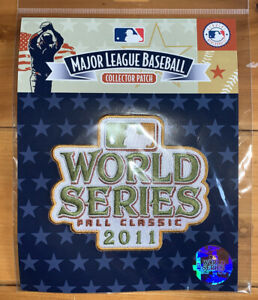 2011 World Series Jersey Patch St Louis Cardinals vs Texas Rangers