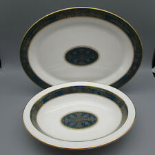 Royal Doulton Bone China Carlyle Oval Servers - Set of Two