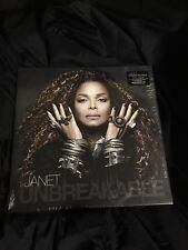 Janet Jackson-`Unbreakable (2-LP Set, WITH Download Card)`  VINYL LP NEW SEALED!