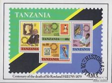 tanzanie Bloc 20 (complète edition) neuf avec gomme originale 1980 rowland hill
