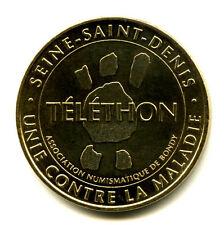 93 BONDY Téléthon, 2008, Monnaie de Paris