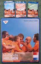 Hollandse Helden EK 2008 Elftal boek en complete set kaarten complete set.