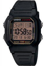 Casio W800HG-9A Men's Resin Band 100M Snooze Alarm Chronograph Digital Watch