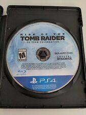 Rise of the Tomb Raider: 20 Year Celebration (PlayStation 4, 2016) game only ps4