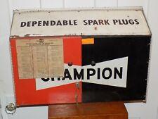 1932 PAPER AD 2 PG Champion Spark Plug C Type Porcelains Truck Cars