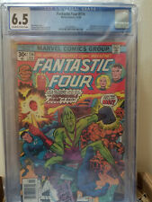 Fantastic Four #176 CGC 6.5 1976 Impossible Man Jack Kirby George Perez