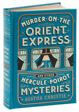 *New Sealed Leatherbound* MURDER ON THE ORIENT EXPRESS by Agatha Christie