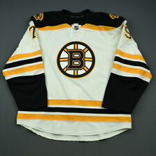 2014-15 David Warsofsky Boston Bruins Game Used Worn Reebok Hockey Jersey NHL