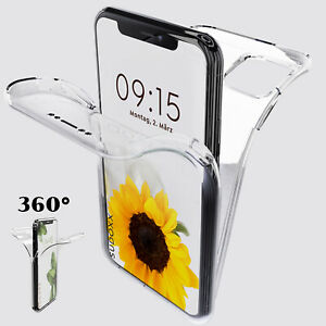 360 Hülle Samsung Galaxy S20 FE S10 S9 S8 Plus Ultra Silikon Rundum Full Cover