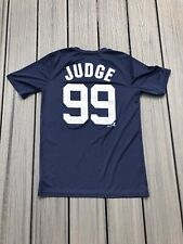 New York Yankees MLBPA AARON JUDGE #99 Cross Bats Youth Boys Cotton T Shirt Navy
