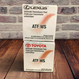 LEXUS/TOYOTA 6 QUARTS AUTOMATIC TRANSMISSION FLUID WORLD STANDARD