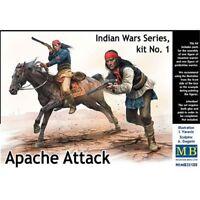 1:3 5 Indiano Wars Serie Apache Attack Modello Kit - Mas35188 Masterbox 135