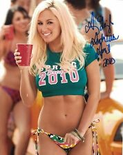 Amy Leigh Andrews Autograph Signed Photo 8x10 #28 Playboy Playmate Busty Blonde