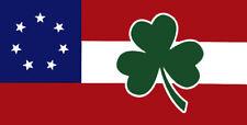 Wholesale Lot of 6 Ireland Irish Shamrock Star Bars 7 Decal Bumper Sticker