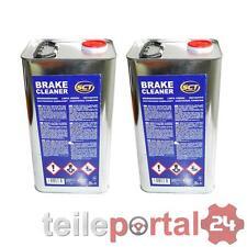 [1L/EUR2,69] 2x SCT Brake Cleaner 5L Bremsen Reiniger Teilereiniger Entfettung
