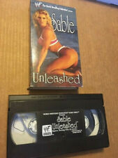 "RARE WWF ""ATTITUDE ERA"" VHS - SABLE UNLEASHED (1998)"