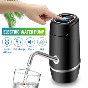 Portable Electric Water Pump Wireless Dispenser Automatic Drinking Water Bottle