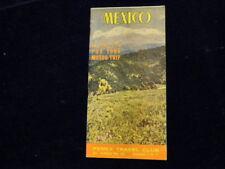 Vintage Mexico Pemex Hints For Your Motor Trip Travel Club Travel Brochure  Q259