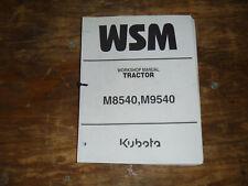 Kubota M8540 M9540 Tractor Shop Service Repair Manual