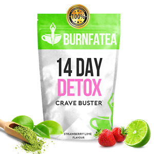 BURNFATEA 14 DAY CRAVE BUSTER DETOX TEA, FIGHT SUGAR CRAVINGS AND APPETITE