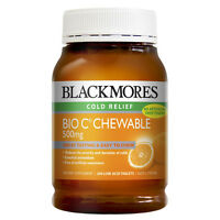 BLACKMORES Bio C Chewable 500mg 200 tablets ( Cold Relief )