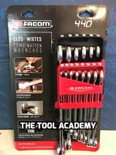 SALE FACOM 14 Pce Combination Spanner Wrench Set 7mm > 24mm In Holder Clip