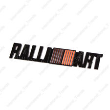 3D Black Alloy RALLIART Body Emblem Badge Rear Side Sticker For Mitsubishi EVO