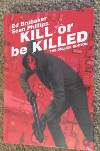 Image Comics - Brand New Sealed OOP Kill or Be Killed Deluxe HC Ed Brubaker