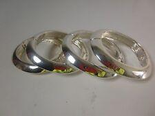 Banana Republic Heavy Silver Square Cuff Bracelet NWT $79