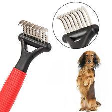 Pets Dematting Brush Undercoat Rake Grooming Comb Deshedding Tool for Cat & Dog