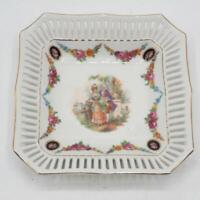 Vintage Germany Porcelain Trinket Tray