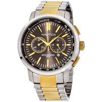 Nautica Quartz Movement Grey Dial Men's Watch A23601G