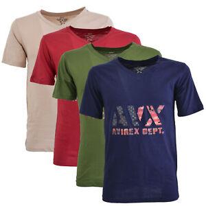 T-shirt Avirex Dept AVX manica corta uomo AVBWTS02TASK