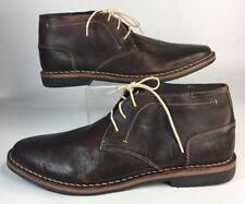 Steve Madden Leather Men Shoes Size 12 M Brown Color