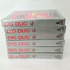 DIG DUG Atari 2600 7800 VCS Lot of Six NTSC Brand New and Factory Sealed