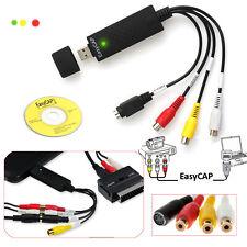 Easycap USB 2.0 Audio Video Capture Grabber VHS zu auf DVD Konverter Überspieler