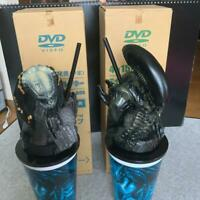Alien Vs Predator Avp  Theater 2cups w/Topper Figures set promo Japan EX 2004