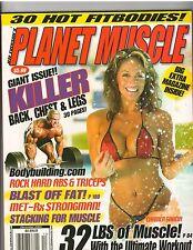 PLANET MUSCLE bodybuilding fitness magazine/CARMEN GARCIA & LEE PRIEST 12-04