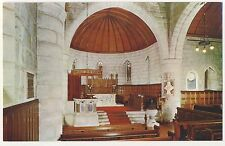 Old Postcard - The Interior of Crathie Kirk, Royal Deeside - Unposted 1959