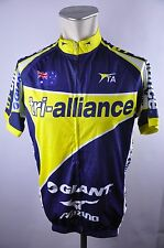 Ta cloth tri-Alliance australia Cycling Jersey maglia rueda camiseta m BW 55cm d-05