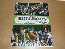 1978 EASTERN ILLINOIS AT BUTLER (IN) COLLEGE FOOTBALL PROGRAM