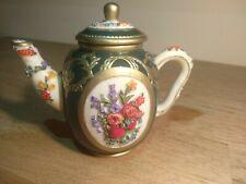 Nini Elizabeth Hall Miniature Teapot Mayfair Edition