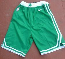 New Nike Youth Dry NBA Basketball Boston Celtics Shorts Size Large