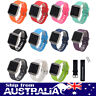 Replacement Silicone Watch Band Fitness Bracelet Wrist Strap For Fitbit Blaze ol